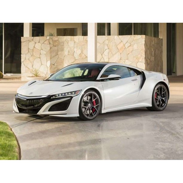 2017 Acura NSX Car-20 Inch By 30 Inch Laminated Poster