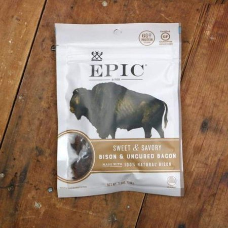 (Epic Meat Bites - Sweet & Savory Bison Bacon)