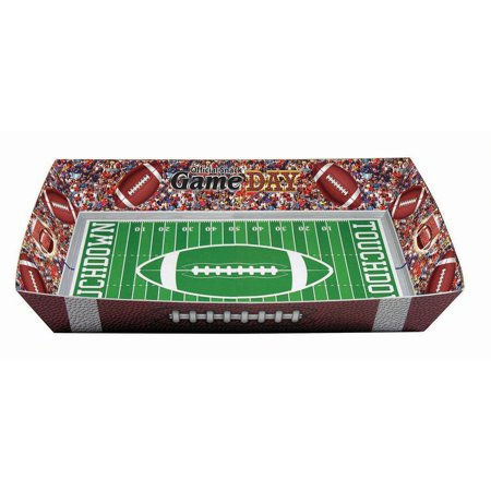 Football Party Paper Snack Tray, 8ct](Football Snack Ideas)