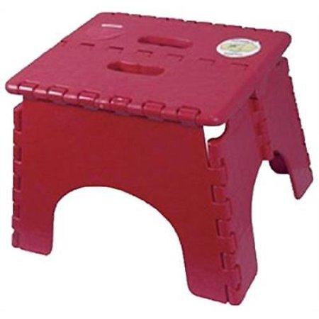 Fine Br Plastics 101 6Burg E Z Foldz Step Stool Burgundy Alphanode Cool Chair Designs And Ideas Alphanodeonline