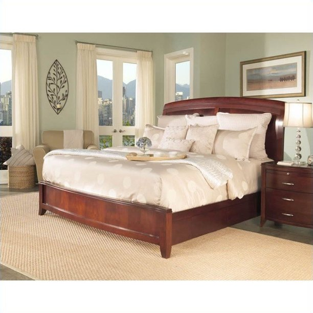 Modus Furniture Brighton Wood Storage Bed In Cinnamon 2 Piece Bedroom Set Walmart Com Walmart Com