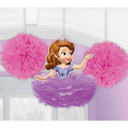 Sofia The First Fluffy Decorations (Sofia The First Decorations)