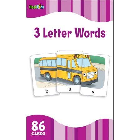 Flash Kids Flash Cards: 3 Letter Words (Flash Kids Flash Cards) (Other) ()
