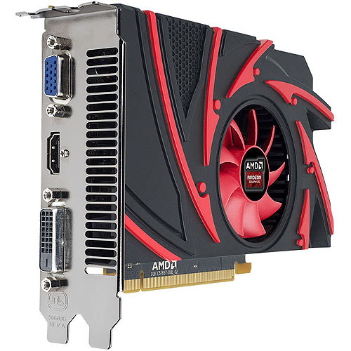 CYBERPOWERPC CPVCR7250 AMD Radeon R7 250 2GB GDDR3 PCI Express 3.0 Graphics Card