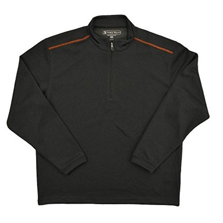 - Pebble Beach Performance Mens Golf Pullover -  Charcoal Size Medium