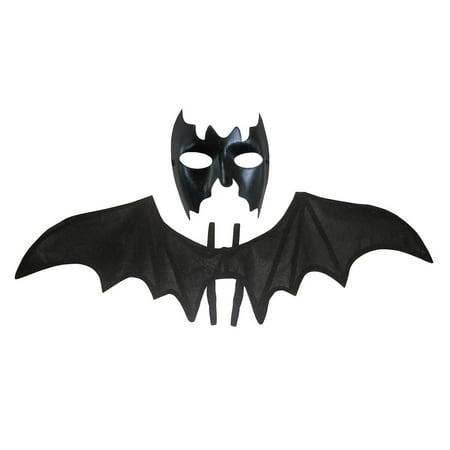 Halloween Faces With Regular Makeup (Bat Face Mask W/ 38