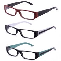1a378a00b0 Product Image Casual Fashion Horned Rim Rectangular Frame Clear Lens Eye  Glasses