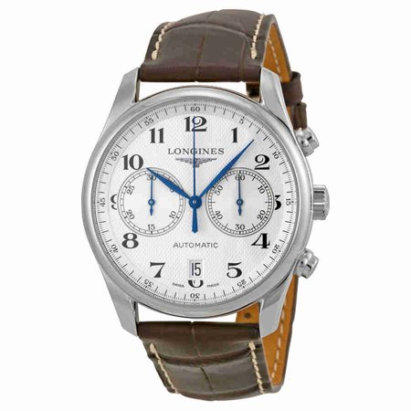Longines Master Chronograph Silver Dial Mens Watch L26294783