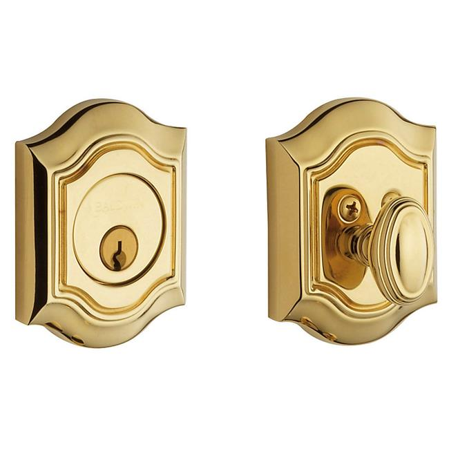 Baldwin 8237260 Bethpage Deadbolt - Polished Chrome