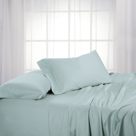 Luxury 100 Bamboo Viscose Sheets Woven At 600 Thread Counts Softest Sheet Set With Deep Pockets King Size Sea