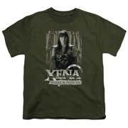 Xena Warrior Princess Honored Big Boys Shirt