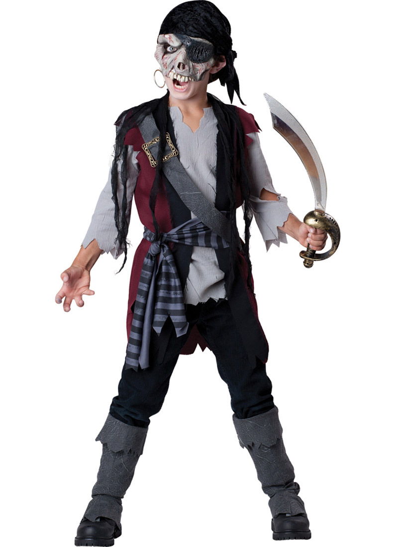 Child Shipwrecked Pirate Costume Incharacter Costumes LLC 17040 by Incharacter Costumes LLC