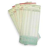 AMANO AMA099000 Amano Br Mjr-7000 -0-99- 1000-Pk Employee Cards