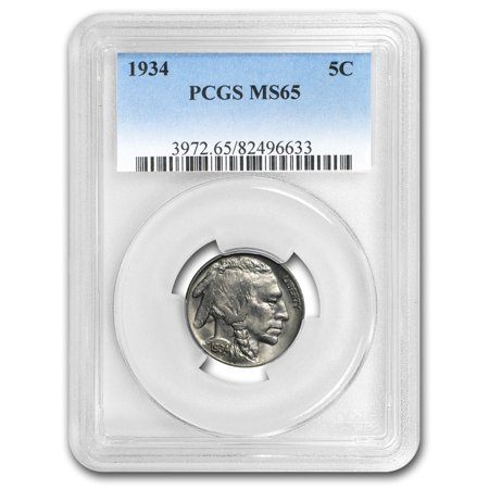 1934 Buffalo (1934 Buffalo Nickel MS-65 PCGS )