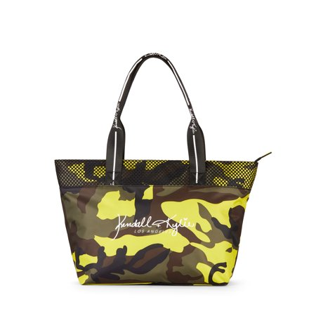 Kendall + Kylie for Walmart Large Multi Camo Tote