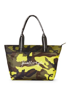 b81c22e913 Product Image Kendall + Kylie for Walmart Large Multi Camo Tote