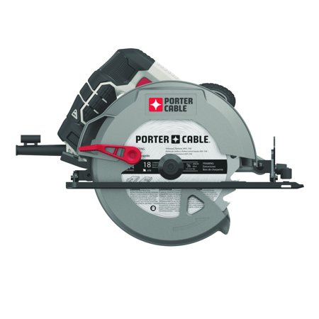 PORTER CABLE PCE300 - 15 -Amp 7-1/4 Inch Heavy Duty Magnesium Shoe Circular Saw - Heavy Duty Masonry Saw