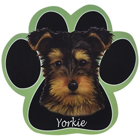 Yorkie pup Dog Paw Non-Slip Mousepad