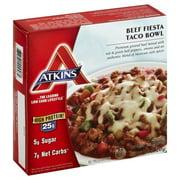 Atkins, Beef Fiesta Taco Bowl 8.5 Oz. Box