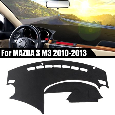 - Car Inner Dash Sun Cover Dashboard Dashmat Mat Carpet Protective Pad for Mazda 3 M3 2010-2013