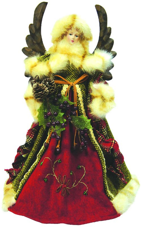 Christmas fairy tree topper pot head