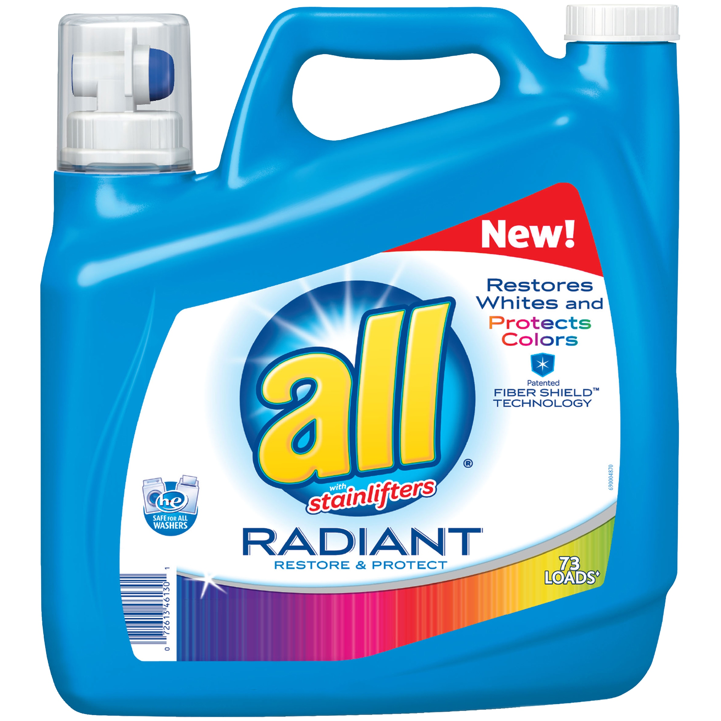 All® with Stainlifters Radiant Restore & Protect Liquid Laundry Detergent 141 fl. oz. Jug