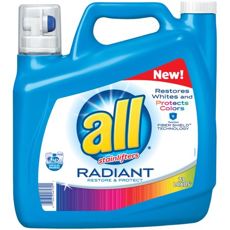All  With Stainlifters Radiant Restore   Protect Liquid Laundry Detergent 141 Fl  Oz  Jug