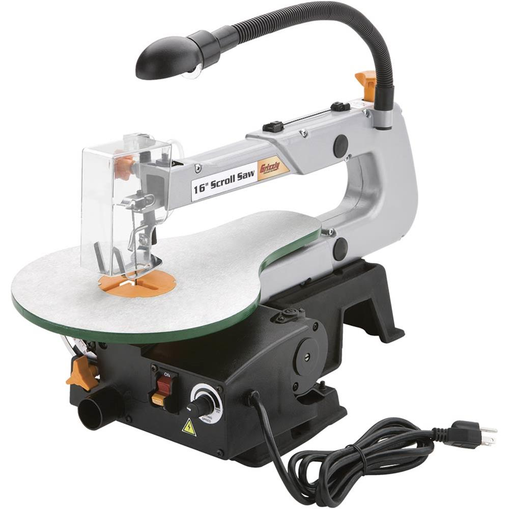 "Grizzly G0734 16"" Scroll Saw"