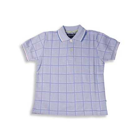 7d0ffe769 E-land Kids - E-Land - Little Boys Short Sleeved Polo Shirt Light Blue   4  - Walmart.com
