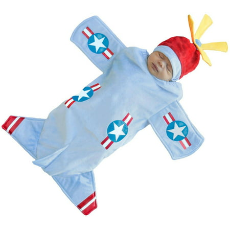 Bennett Bomber Bunting Infant Halloween Costume, 0-6 Months](0-3 Month Halloween Costumes)