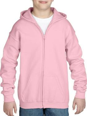 Gildan Kid's Heavy Blend Full Zip Hooded Sweatshirt