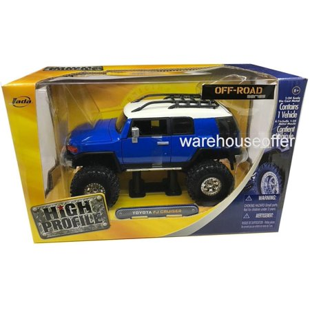 New 1:24 W/B MAISTO HIGH PROFILE - RED OFF-ROAD SERIES TOYOTA Diecast Model Car By MaistoBy Maisto By FJ (Fj Cruiser 6 Speed Manual For Sale)