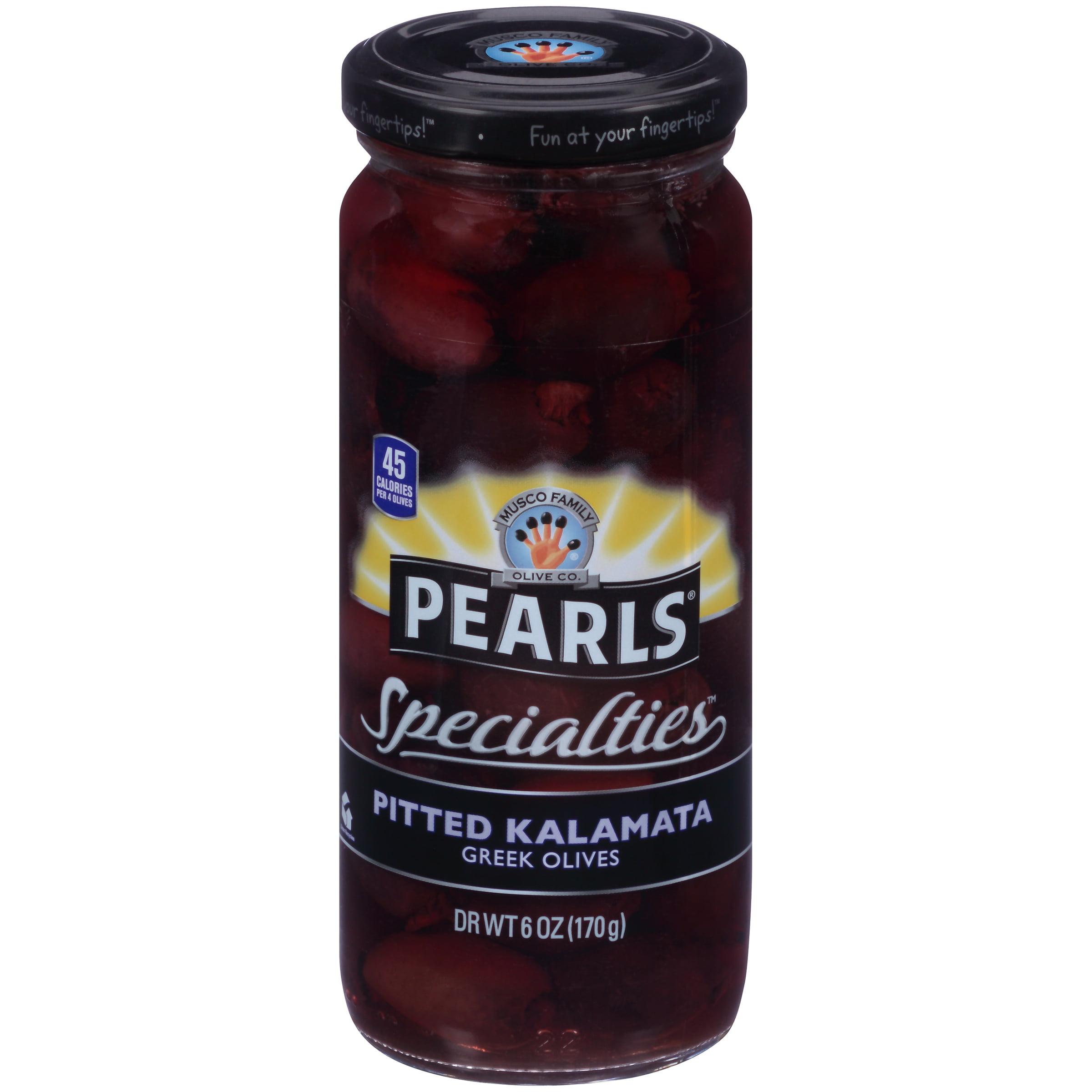 (2 Pack) Pearls? Specialties? Pitted Kalamata Greek Olives 6 oz. Jar