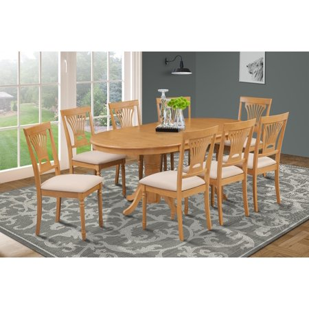9 piece dining room set table with a butterfly leaf and 8 for 9 piece dining room set with leaf