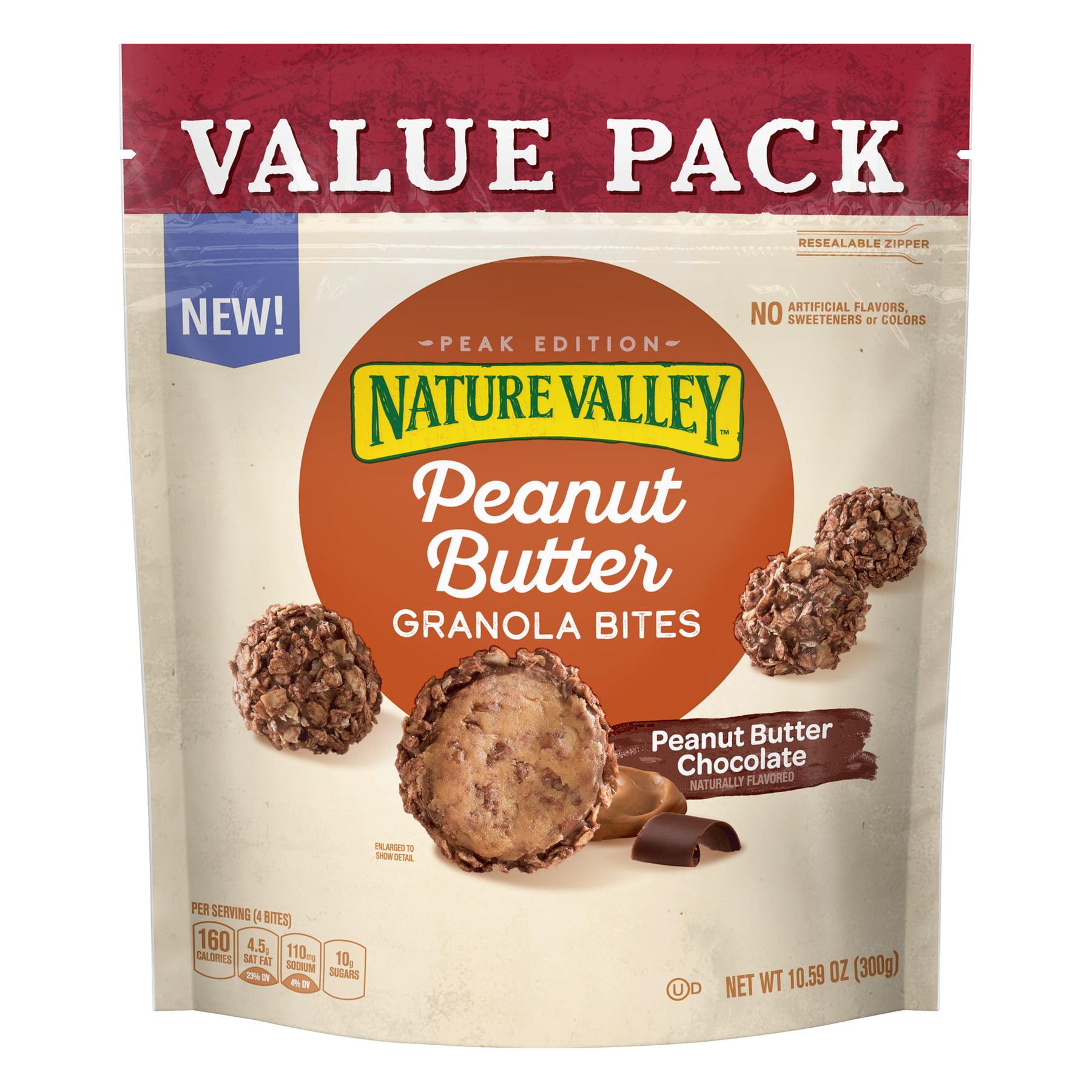Nature Valley Granola Bites Peanut Butter Chocolate Value Pack 10.6 oz