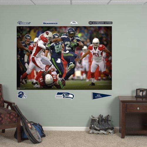 Fathead NFL Seattle Seahawks Marshawn Lynch In Your Face ...