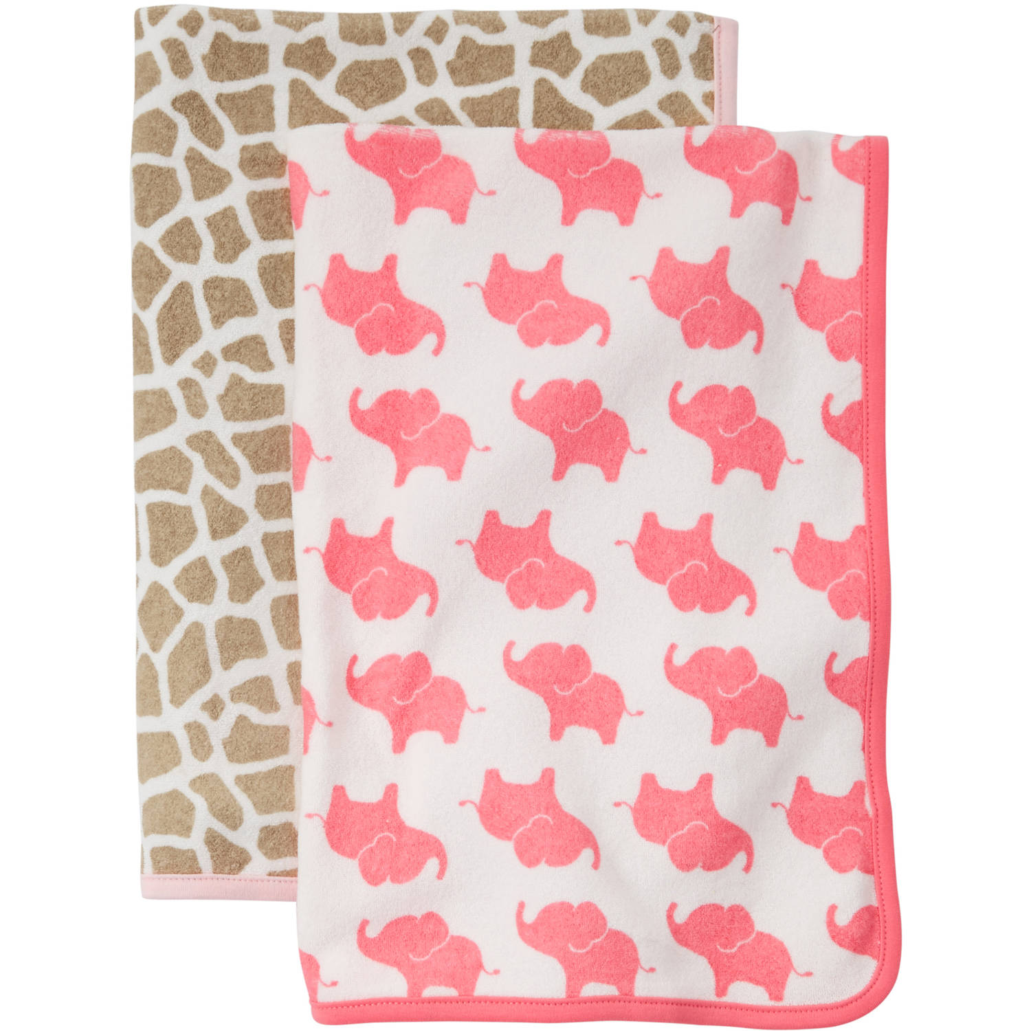 Child of Mine by Carter's Newborn Baby Girl Towel 2-Piece Set