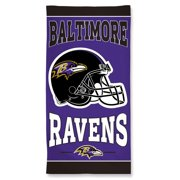 "Baltimore Ravens WinCraft 30"" x 58"" Beach Towel"