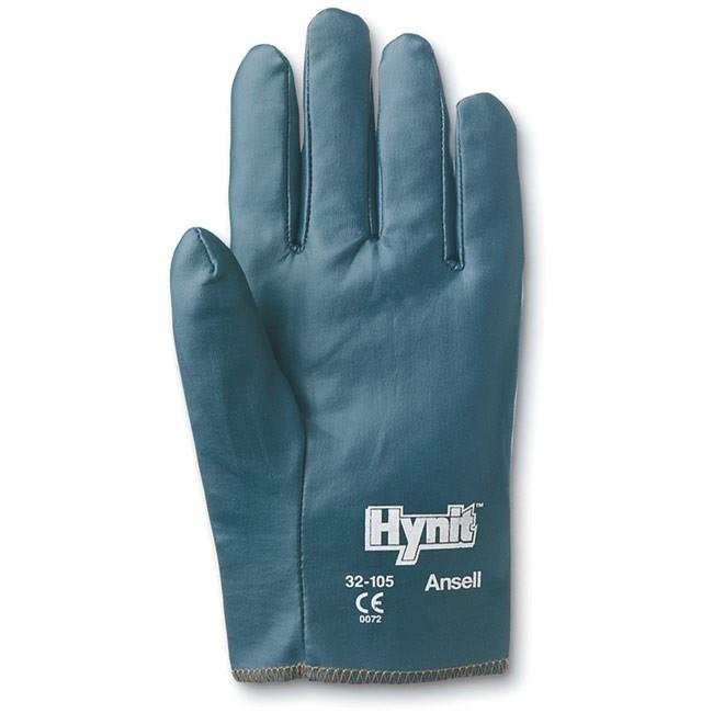 Accent Software 3210575 7.5 in. Hynit Gloves, Blue