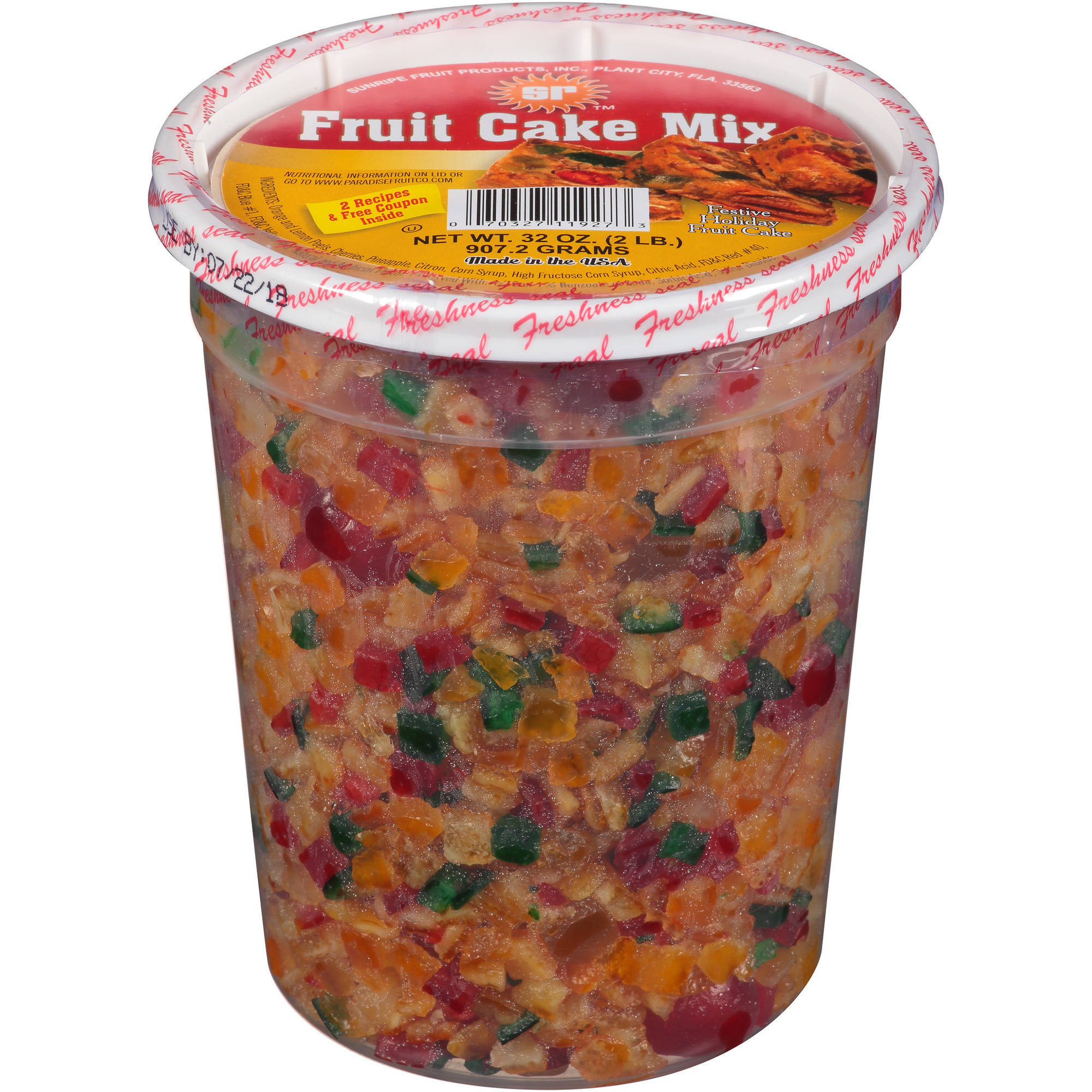 Quick Mix Fruit Cake