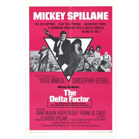 The Delta Factor - movie POSTER (Style A) (11