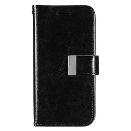 LG G5 Phone Wallet Case Leather with Card holder & Photo Display by Insten - Black