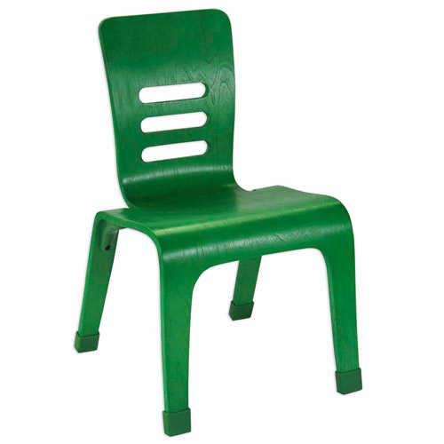 "Ecr4kids 8"" Bentwood Chair Green"