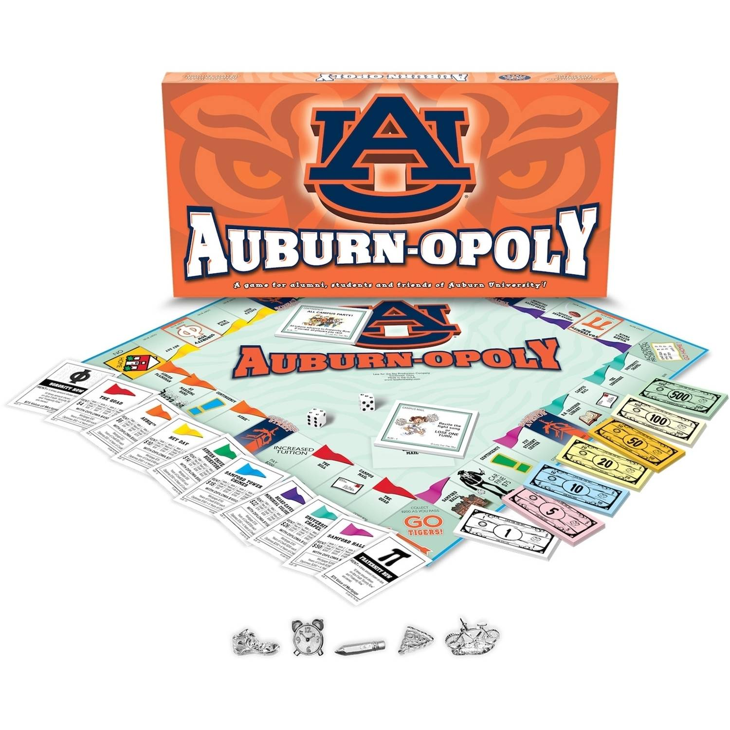 Auburn University - Auburnopoly Board Game
