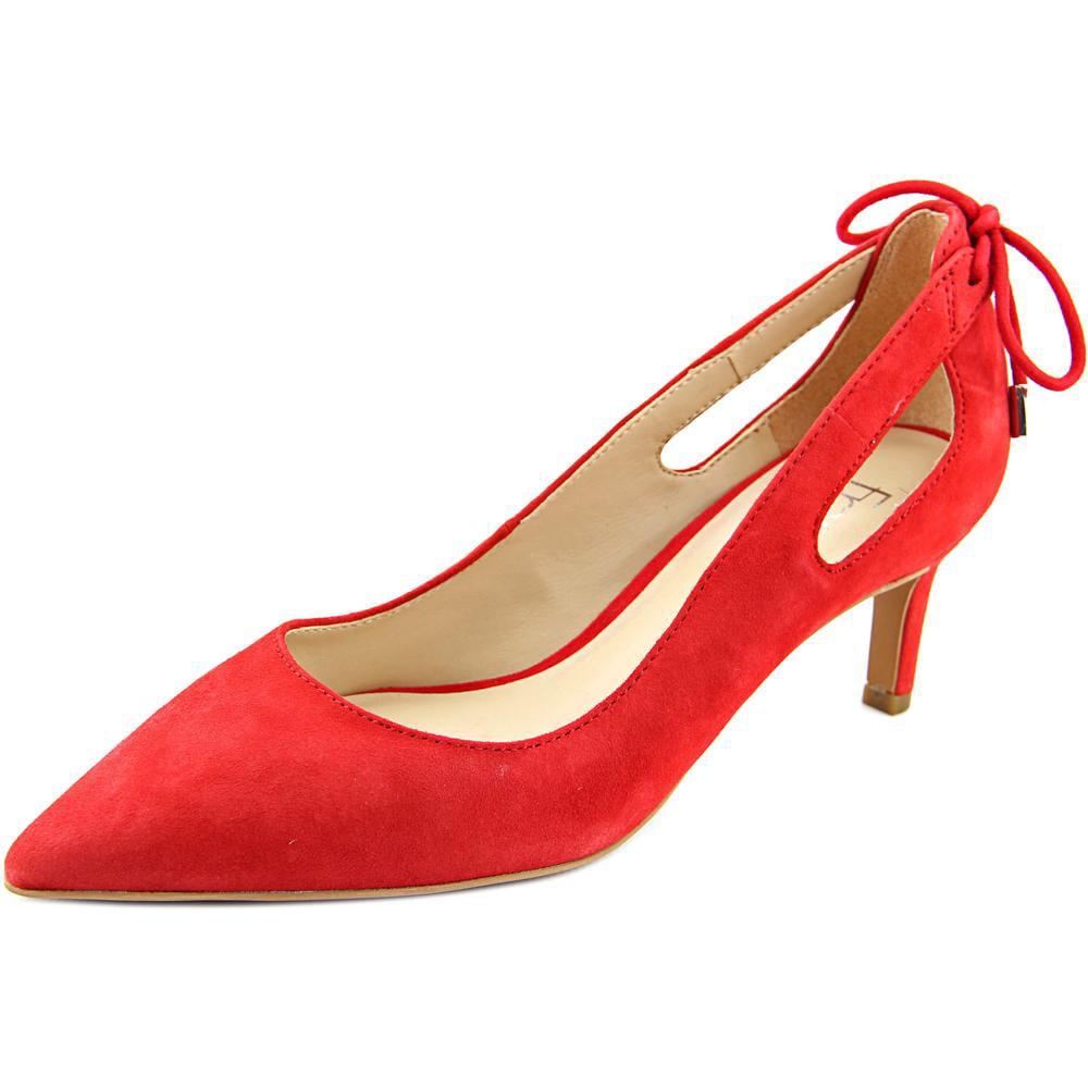 Franco Sarto Doe Women Pointed Toe Suede Heels by Franco Sarto