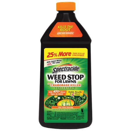 Spectracide Weed Stop For Lawns Plus Crabgrass Killer Concentrate, 40-fl