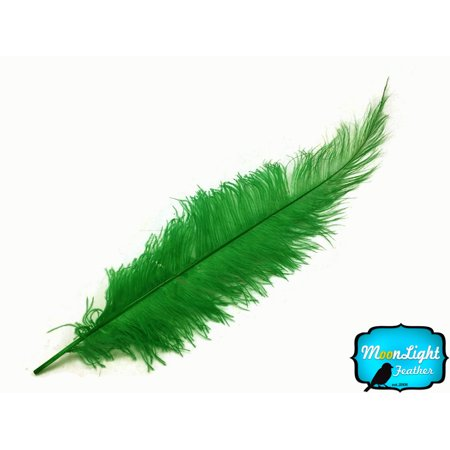 1 2 Lb   Kelly Green Ostrich Spads Wholesale Feathers 20 28   Bulk  Swa