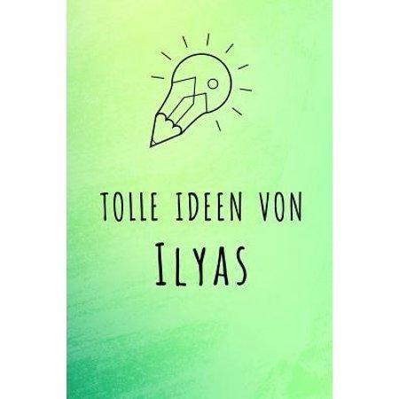 Tolle Ideen von Ilyas: Unliniertes Notizbuch mit Rahmen f�r deinen Vornamen Paperback (- Brillen-optische Rahmen)