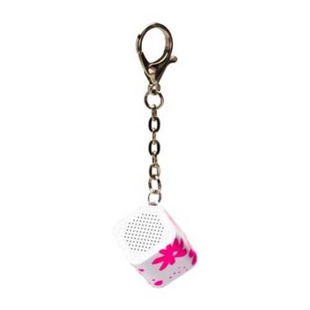 - Ashley Mary Keychain Bluetooth Flowers Speaker - Pink