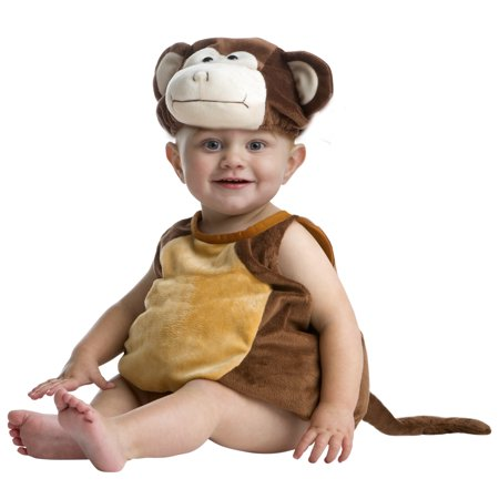 Halloween Infant Monkey Bubble Halloween Costume (Infant Monkey Halloween Costumes)